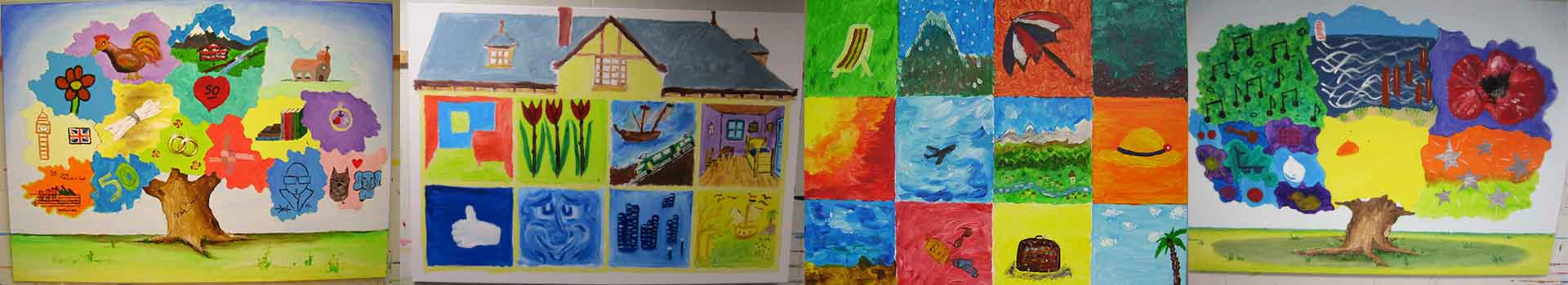open workshop schilderen