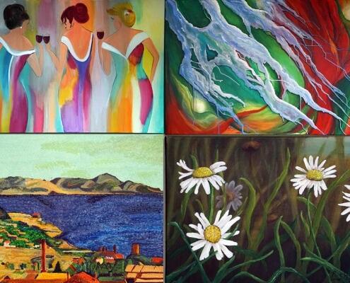 schilderworkshop resultaten