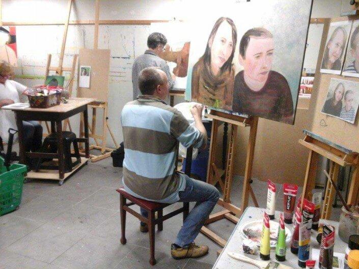 schilderlessen