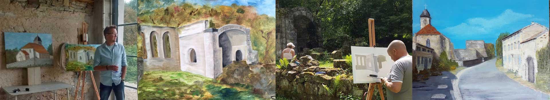 banner schildercursus frankrijk