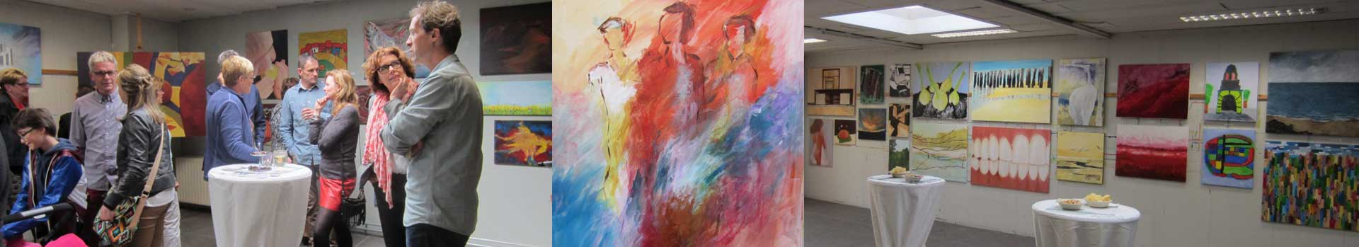 banner tekenen en schilderen