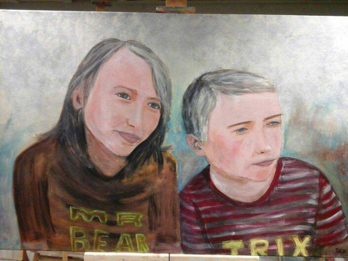Portret schilderen