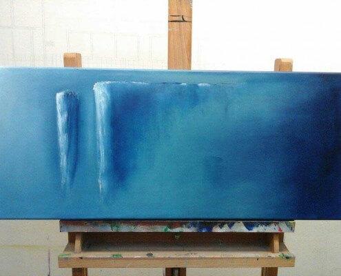 schilderij schilderles